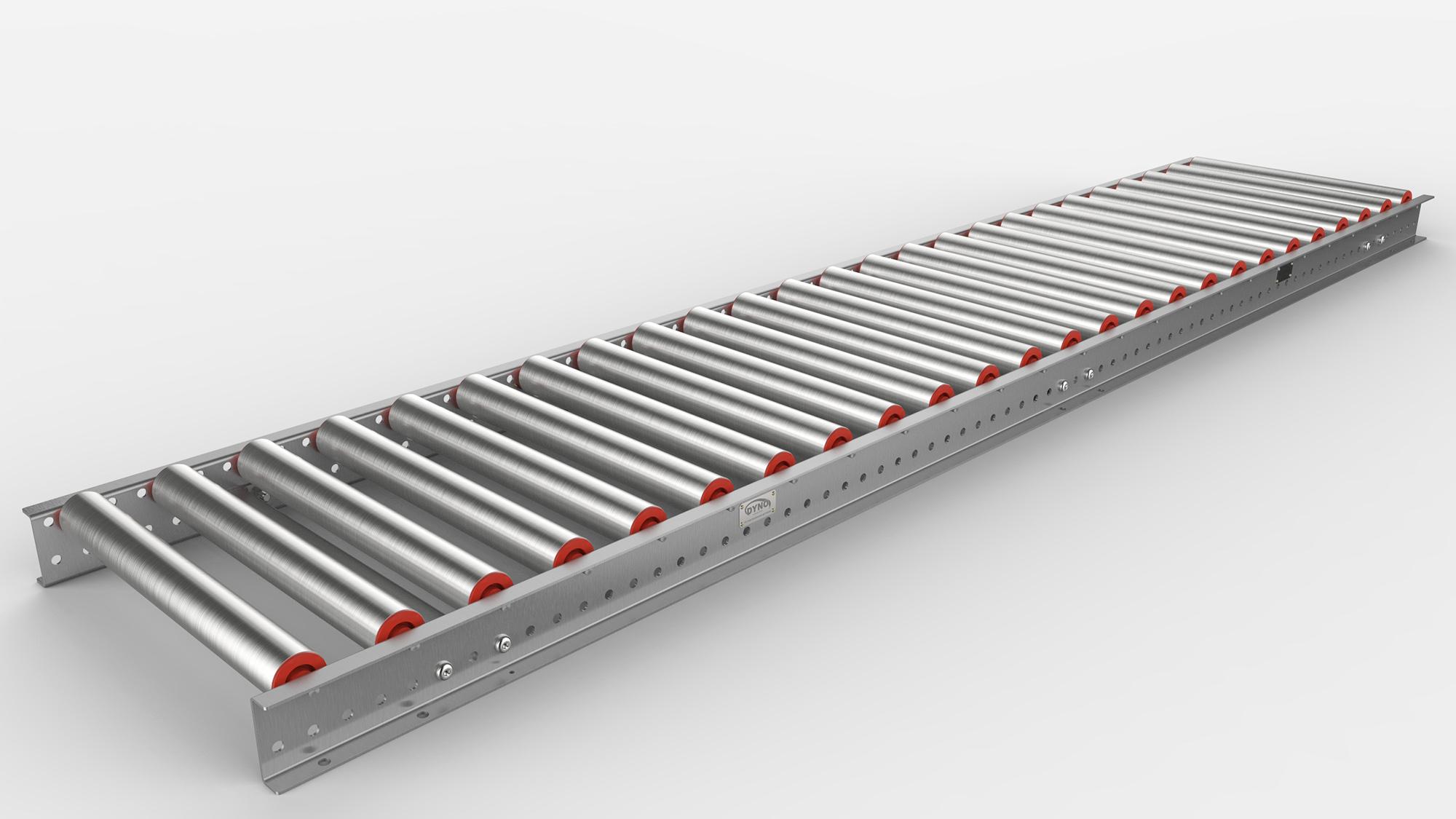 Ezyroll Gravity Roller Conveyor Dyno Conveyors Nz