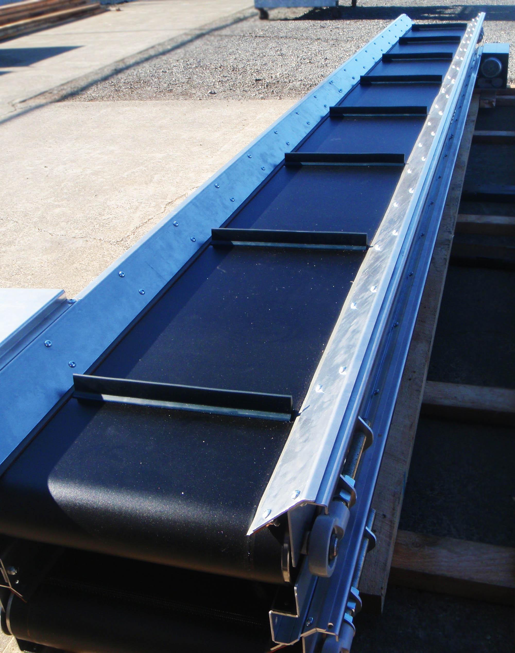 Tranzbelt TR - Trough Belt Conveyor   Dyno Conveyors NZ - Roller
