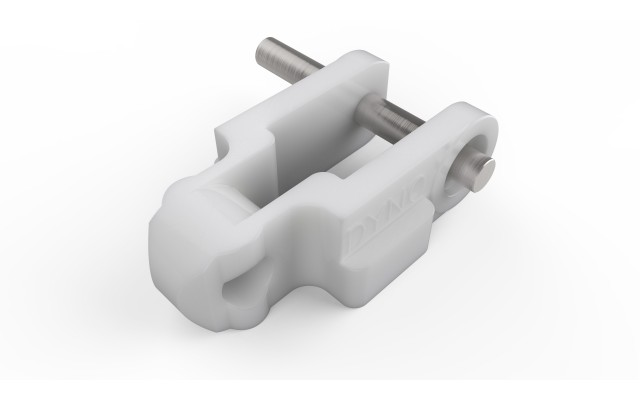 600 Chain White Acetal Lugged Left Extended Pin