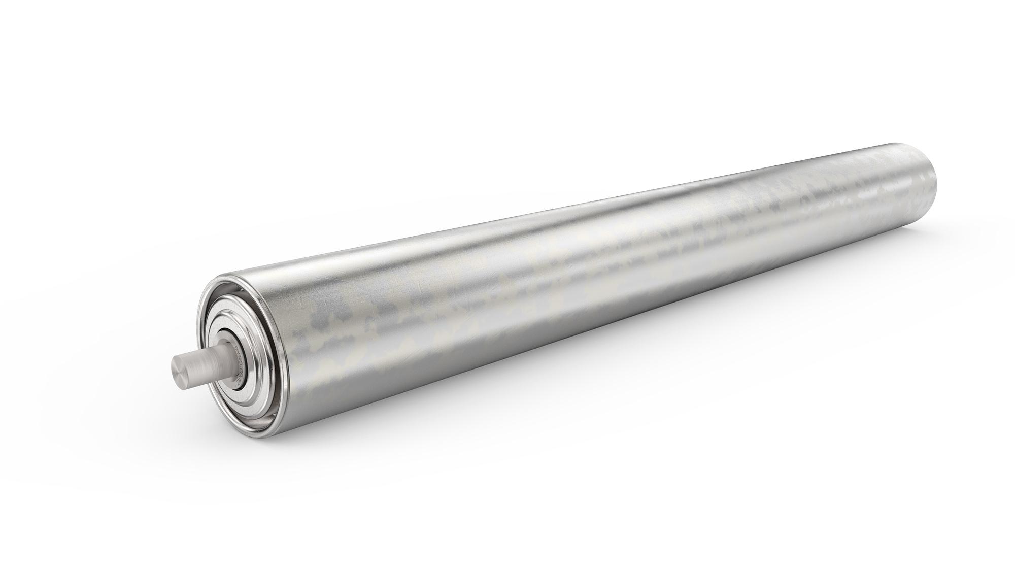 505 Galvanized Roller Dyno Conveyors Roller Belt