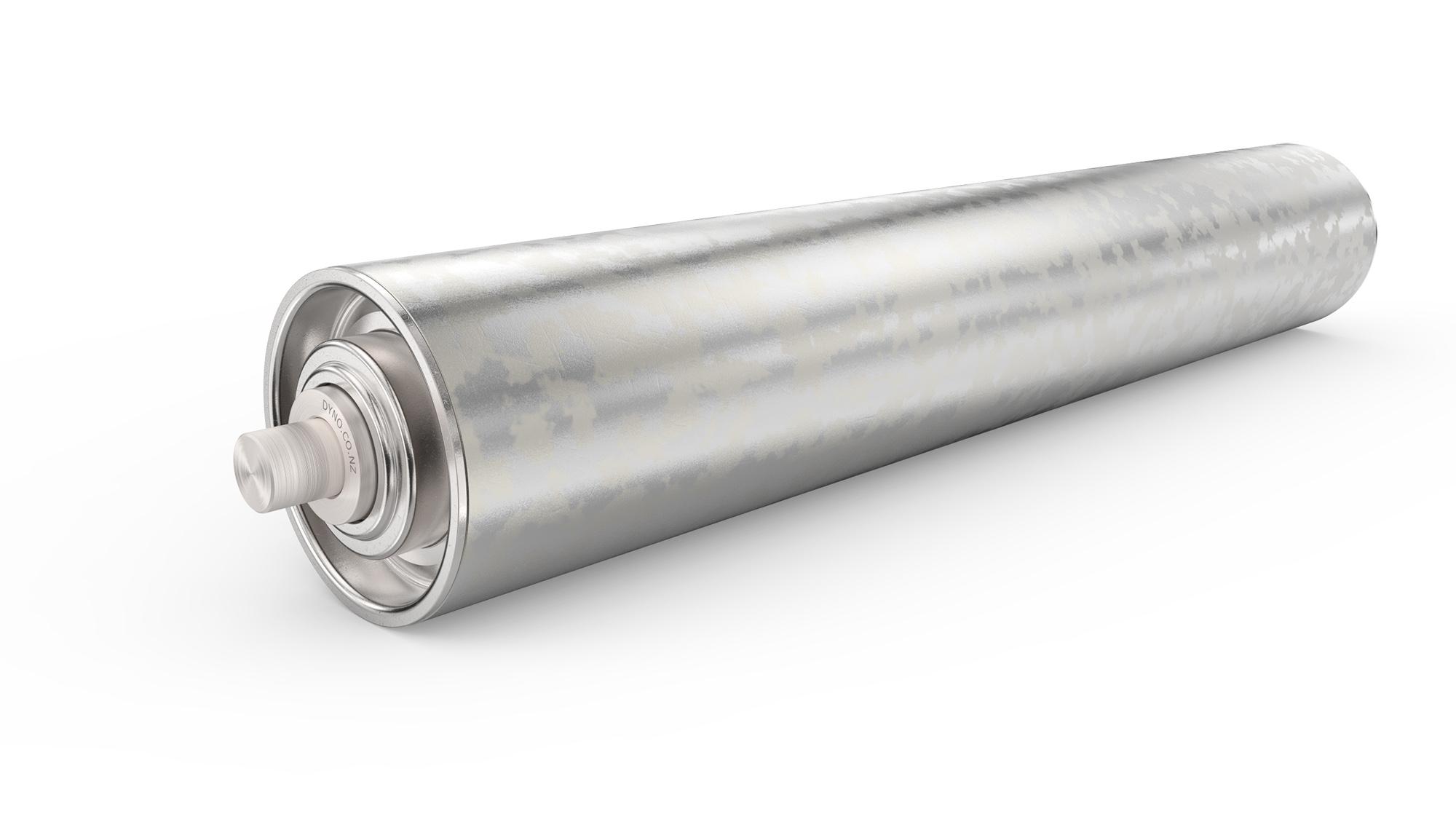75mm Galvanized Roller | Dyno Conveyors - Roller, Belt