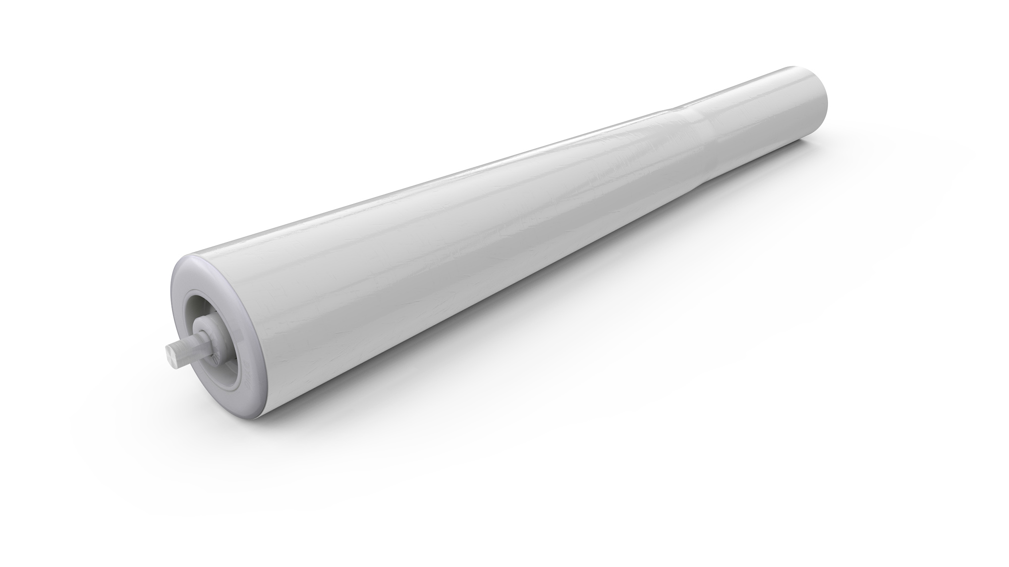 48mm Tapered PVC Roller | Dyno Conveyors - Roller, Belt, Chain and