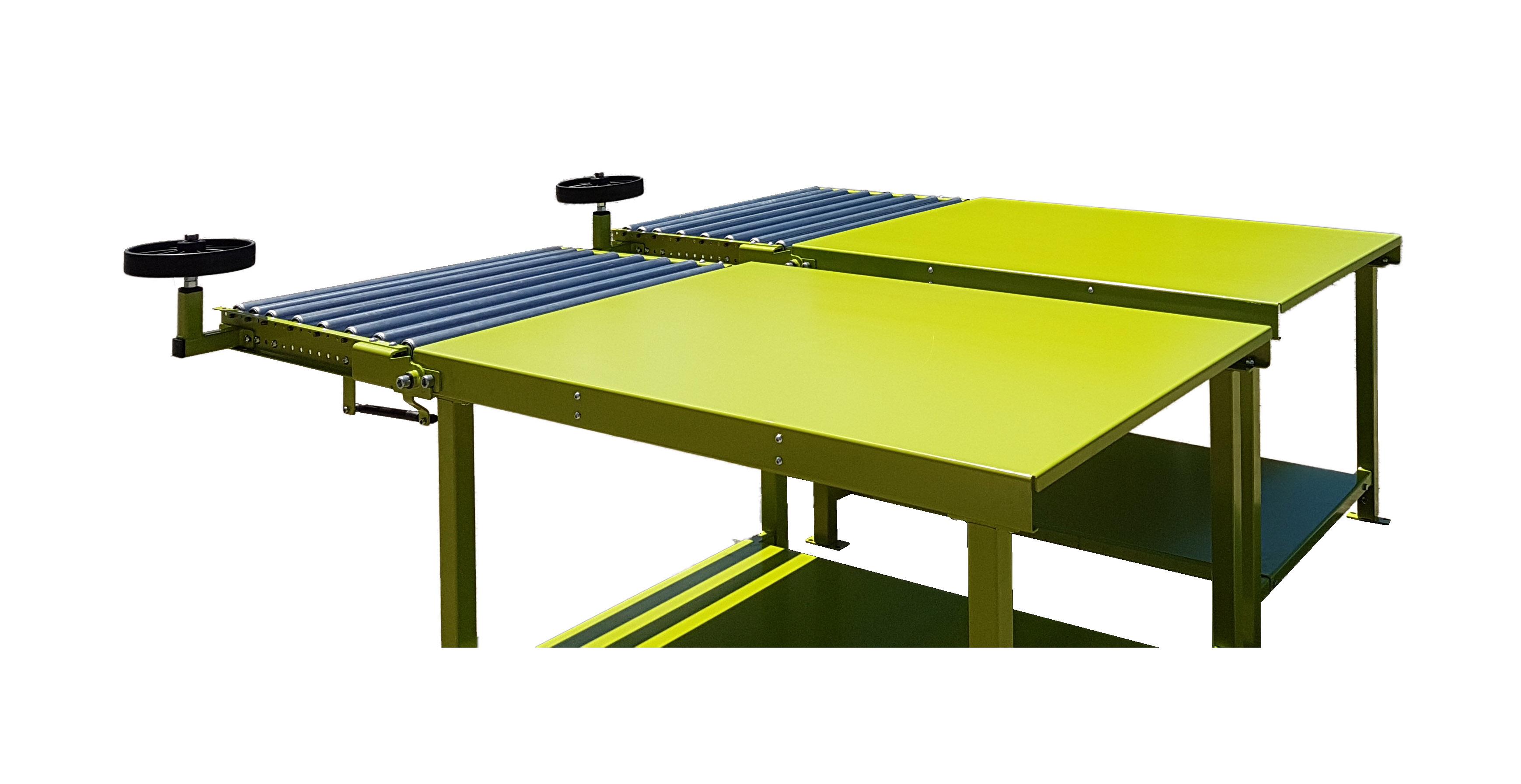 Expandable Tables Tables Amp Scissor Lifts Dyno Conveyors Roller Belt